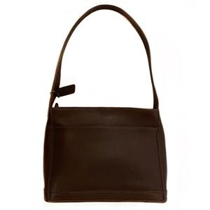 COACH Vintage Brown Leather Bleeker Shoulder Bag